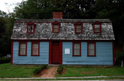 birthplace of Abigail Adams in Weymouth, Massachusetts