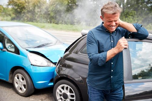 Physical injuries after a car accident