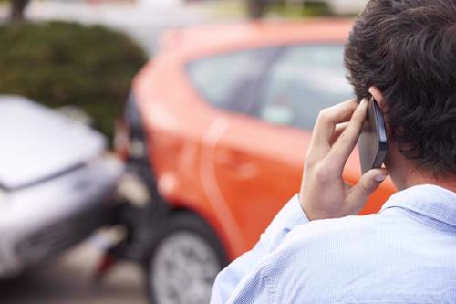 A man calling a Brockton distracted driving accident lawyer.