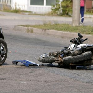 Image is of a Brockton motorcycle accident lawyer client